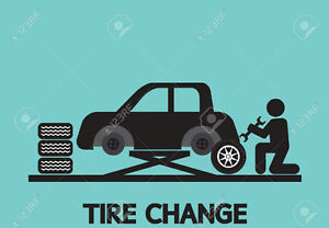 SEASONAL CHANGE OVER TIRES AT YOUR PLACE!