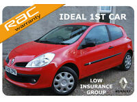 2009 Renault Clio 1.2 16v Extreme ~Low Insurance~Ideal 1st Car-6 Mths Warranty