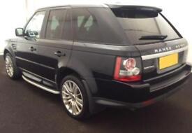 2011 BLACK RANGE ROVER SPORT 3.0 SDV6 HSE AUTO DIESEL CAR FINANCE FR £71 PW