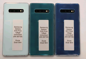 Like New Used Samsung Galaxy S10 Plus Duos (Dual Sim) 128gb Unlocked O