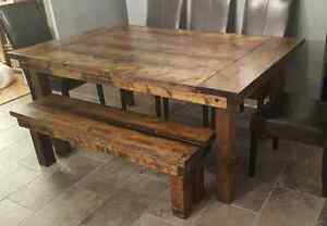CUSTOM HAND CRAFTED HARVEST TABLES