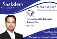 Income Tax Return Filing and Bookkeeping Services