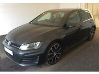 2014 GREY VW GOLF 2.0 TDI 184 GTD DSG DIESEL 5DR HATCH CAR FINANCE FR £54 PW