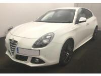 2014 WHITE ALFA ROMEO GIULIETTA 1.4 MULTIAIR 170 SPORTIVA CAR FINANCE FR £41 PW