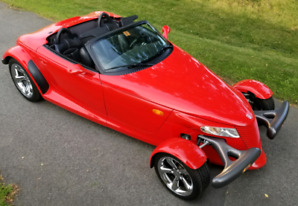 Plymouth Prowler 1999 Red