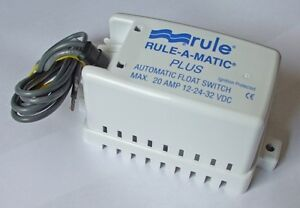 RULE-A-MATIC  AUTO FLOAT SWITCH MODEL 40 NEW