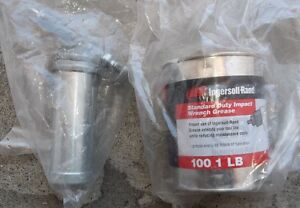 INGERSOLL RAND IMPACT WRENCH GREASE GUN & 1 LB. OF  GREASE
