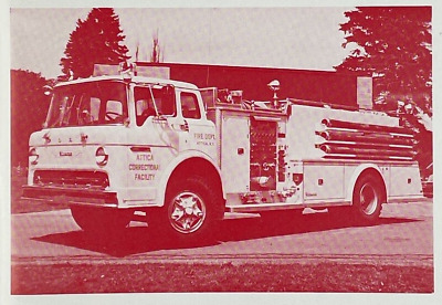 1986 Fire Apparatus Photo Album of Non-Municipal Equipment Firefighting Magazine