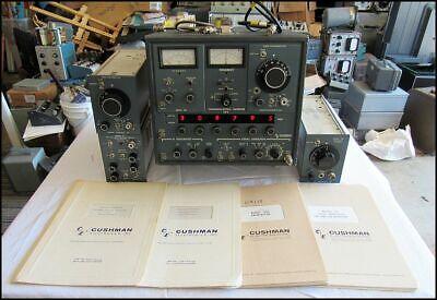 Cushman Communications Monitor Ce-5 W 306e 317 304 302 And Manuals Rare