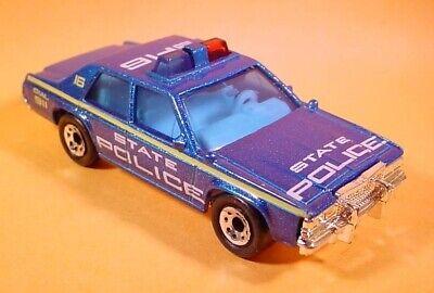MATCHBOX BLUE FORD LTD POLICE CAR MB16-E20 LOOSE