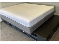 Free Ikea double bed base - no mattress