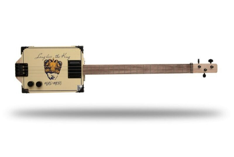 Mad MoFo 3 String Cigar Box Guitar