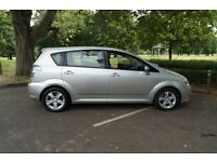 Toyota Corolla Verso, Diesel 2L, full MOT, Family car, 7 seater, can plug phone into the stereo