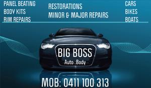 BIG BOSS Auto Body Bankstown Bankstown Area Preview