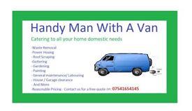 Handy Man With A Van