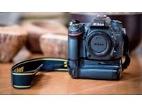 Nikon D7100 with grip and 18-70mm lens