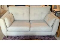 2 & 3 Seater Sofa and footstool