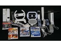 Nintendo Wii, games and accesories