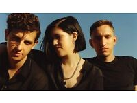 4 seated tickets - The XX - Nottingham