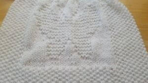 90a90d57a9a0 Baby Butterfly baby blanket.easy knitting pattern   BEGINNER