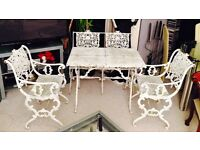 Shabby Chic Garden Furniture Set