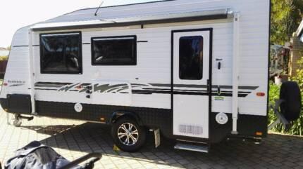 For Hire Family Triple Bunk Caravan