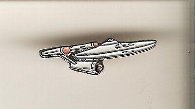 ## STAR TREK  Enamel Metall- Pin  USS ENTERPRISE 1701 Anstecker Cosplay