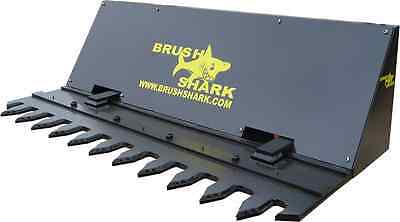 Tree Shear And Brush Cutter - Brushshark Skid Steer Attachment - 6 Auto Cycle