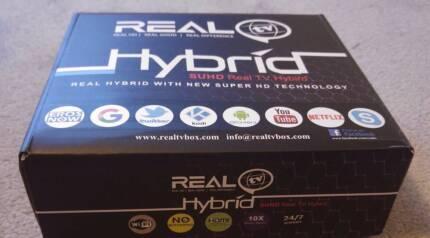 REALTV HYBRID  (NEW STOCK) WITH 1 YR WARRANTY