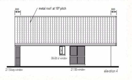 Granny Flat Kit Home - Plan 62, 1 Bedrooms - Size : 62.7M2 WITH O