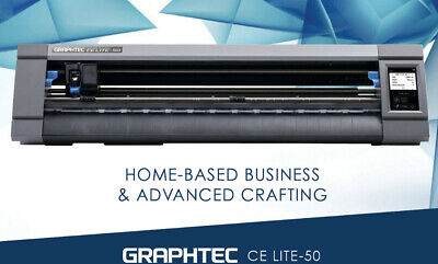 Graphtec Ce Lite-50 Vinyl Cutter 20 Cutting Plotter For Craft Vinyl And Htv