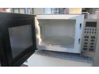 Used microwave oven 800W works well