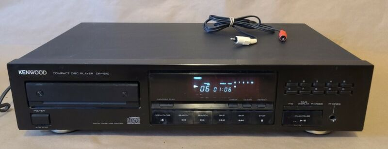 Vintage Kenwood DP-1510 Single Disc CD Player - Compact Disc - 1989 - TESTED