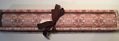 Used, Pink Orange Floral Scroll Pattern 5 Drawer Liner Sheets Non Adhesive 23 x 17 NIB for sale  Shipping to India