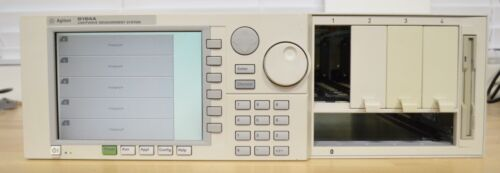 HP Agilent Keysight 8164A Lighwave Measurement System Mainframe