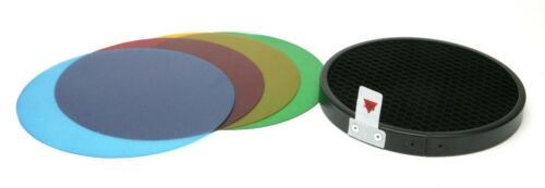 "Bolt Lighting Honeycomb Grid VB-GFK CQ1114 4,5"" Dia., 50 Deg. & 4 Color Filters."