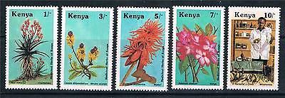 Kenya 1987 Medicinal Herbs SG 430/4 MNH
