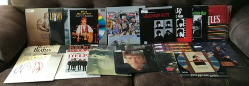 The Beatles on Laserdisc NEW Sealed Harrison Lennon McCartney Starr Music Video