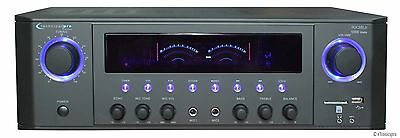 DJ PROFESSIONAL 1000W HOME AUDIO STEREO RECEIVER 2 CH POWER AMP AMPLIFIER USB/SD