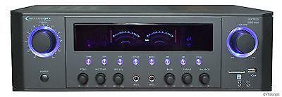 1000W DJ PROFESSIONAL HOME AUDIO DIGITAL STEREO 2 CHANNEL POWER AMP AMPLIFIER FM