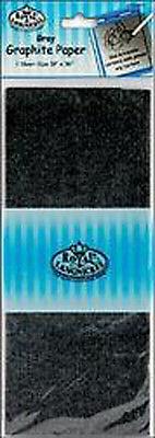 "Royal Langnickel Transfer Paper (Tracing Down) - Graphite Grey - 18"" x 36"""