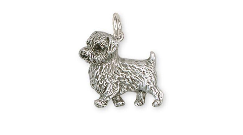 Norfolk Terrier Charm Jewelry Sterling Silver Norfolk Terrier Charms And Norfolk