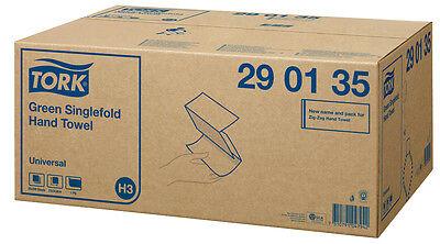 TORK Papierhandtücher Universal Zick-Zack-Falzung 1-lagig  3 Pack Art Nr: 290135