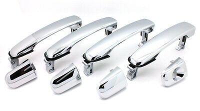 NEW Chrome Outside Door Handle SET / FOR LISTED TRAVERSE ACADIA TERRAIN ENCLAVE