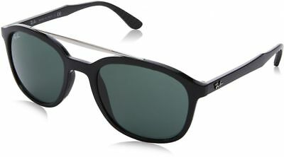 293fa53261542 Ray-Ban RB4290-601 71-53 Black Nylon Green Classic Lens Sunglasses