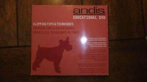 Andis Educational DVD «Trucs et techniques de tonte sur chien»