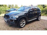 BLACK..2008 BMW X5..Diesel