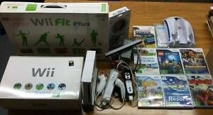 Nintendo Wii Console, 7 x games + (Wii Fit Plus-NEW) + Lots More Christies Beach Morphett Vale Area Preview