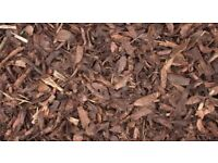 landscape garden bark mulch chippings FREE to collect