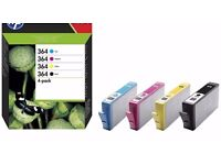 HP Ink Catridges – 364XL Black & 364 Colour 4-pack – Unused - Buy both for £20 o.n.o.